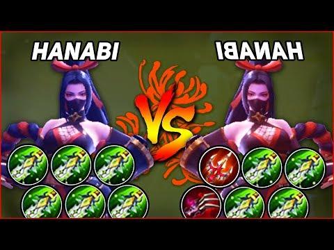 HANABI vs HANABI, GIRL WWE FIGHT ! NINJA=MARKSMAN?! (Full BOD vs Lifesteal)