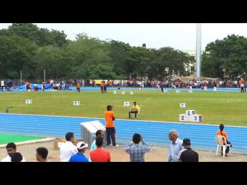 57 senior nationals at Guntur 200m women's finals