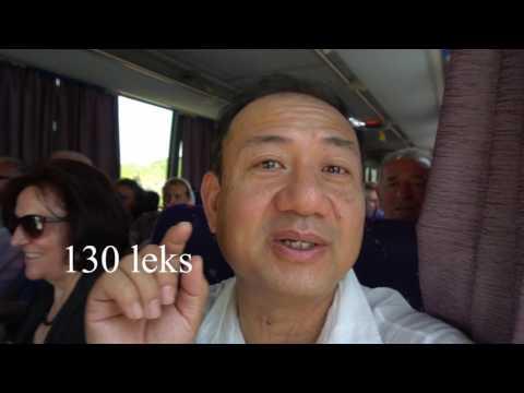 2 Euros Bus Round Trip Tirana to Durres