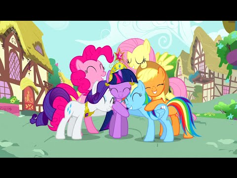 Every* Hug in My Little Pony: Friendship is Magic