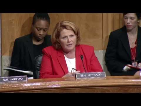 Heitkamp Questions General Services Administration Inspector General Nominee at Senate Hearing