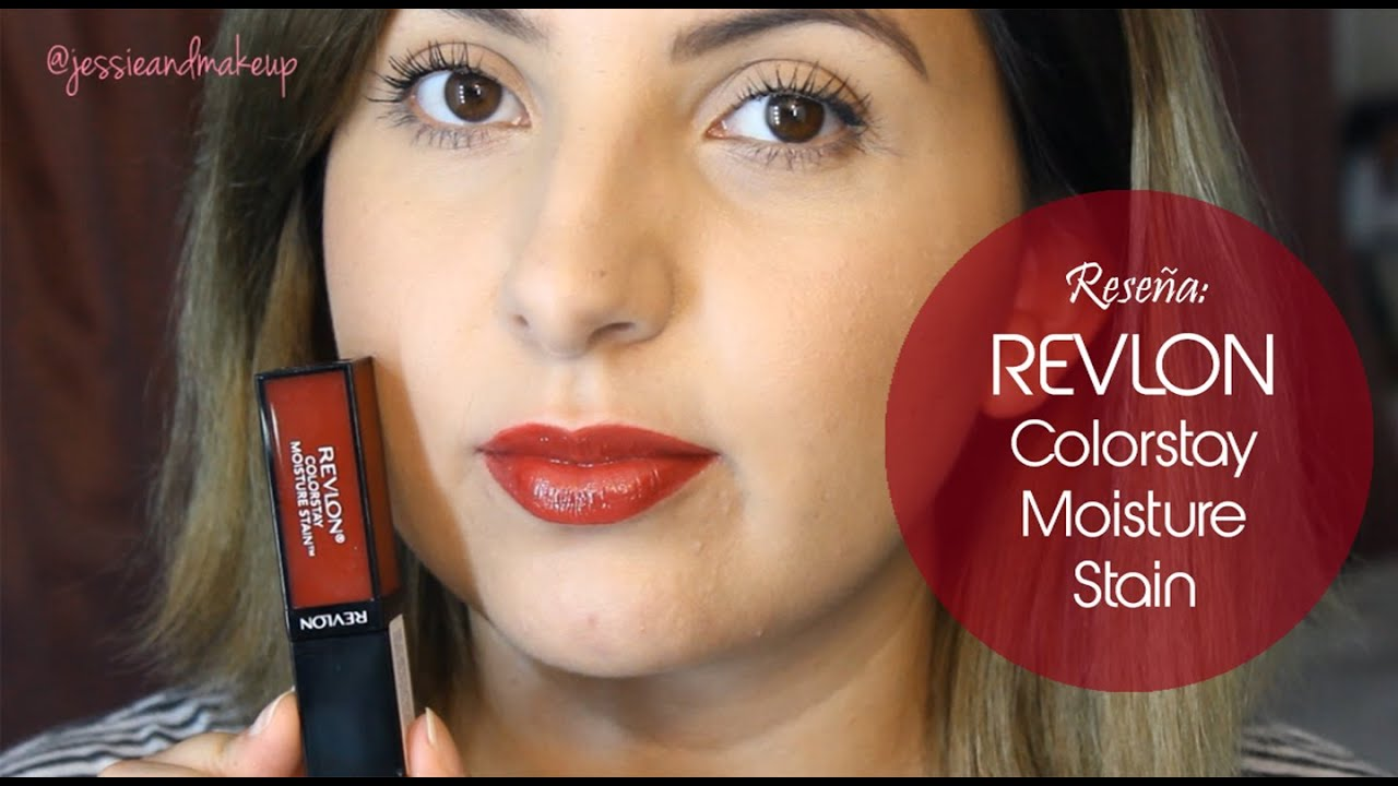 Rese a revlon colorstay moisture stain youtube How to get rid of red lipstick stain