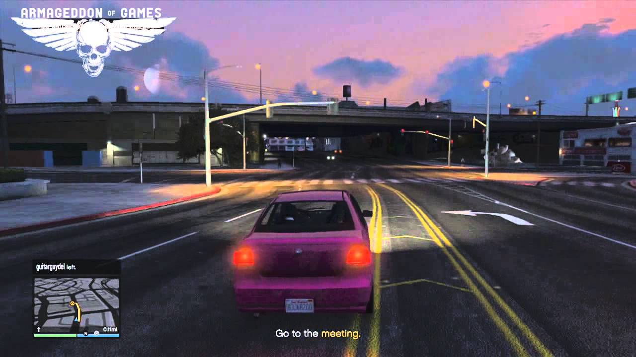how to get first mission gta v online