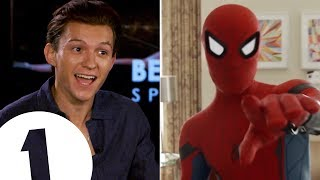"""I\'m a walking meme!\"": Spider-Man\'s Tom Holland on the \'Quackson Klaxon\'."