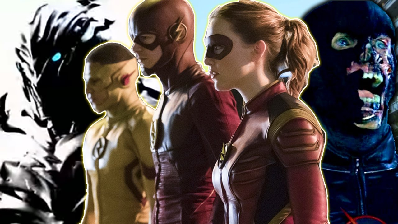 All Speedsters The Flash Youtube