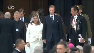 Messe De Canonisation De Jean XX    Et De Jean-Paul