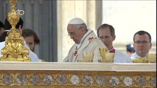 Messe de canonisation de Jean XXIII et de Jean-Paul II