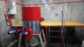 видео Агломератор (ПОЛУАВТОМАТ)    75 кВт,    производительность 300 кг/ч.