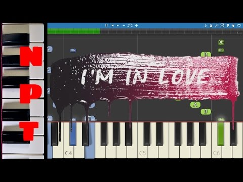 Kygo ft. James Vincent McMorrow -  I'm In Love - Piano Tutorial