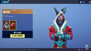 "Fortnite *NEW* ""KRAMPUS"" Skin! - (Item Shop - 24/12/2018)"