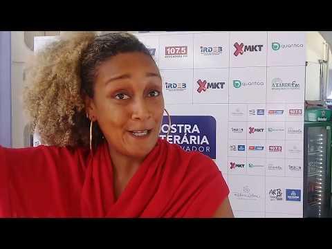 Mostra Literária de Salvador -  Jaqueline Salles  FGM