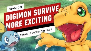 Opinion: Digimon Survive Is More Exciting Than Pokemon Sword and Shield