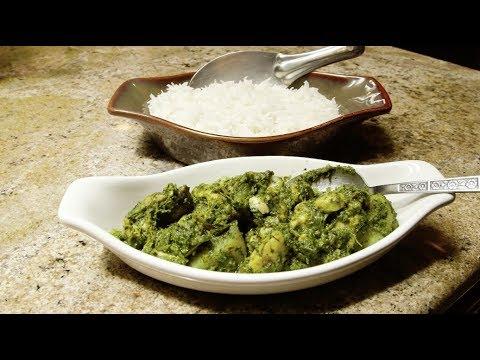 How to Make Haryali Chicken (Cilantro Chicken) - Jyoti's Indian Kitchen