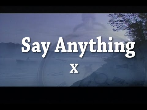 Say Anything (カラオケ) X