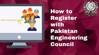How to register or renew membership with Pakistan Engineering Council