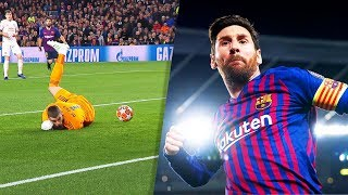 Lionel Messi Destroying Great Goalkeepers ● HD