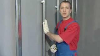 Установка профилей и монтаж гипсокартона с IVSIL(Выравнивание стен дома при помощи гипсокартона. Видео инструкция: разметка стен, крепление подвесов и монт..., 2009-11-24T13:59:20.000Z)