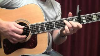 A Sky Full Of Stars-Coldplay-Guitar Lesson-How To Play