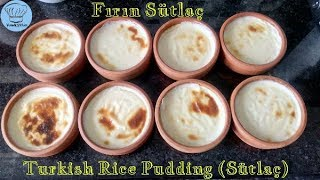 Fırında Sütlaç Tarifi, Fırın Sütlaç Yapımı - How to Make Turkish Rice Pudding (Sütlaç)