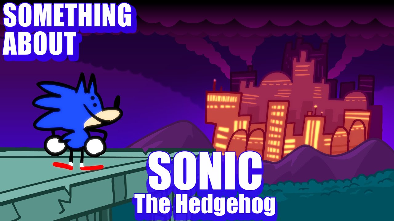 Download Something About Sonic The Hedgehog ANIMATED (Loud Sound & Flashing Light Warning) 🔵💨