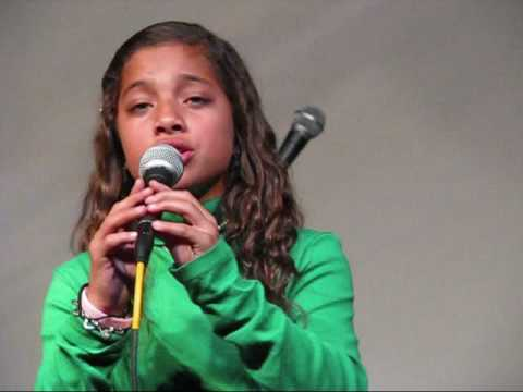 Kiana Lede Singing Concrete Angel Martina McBride cover