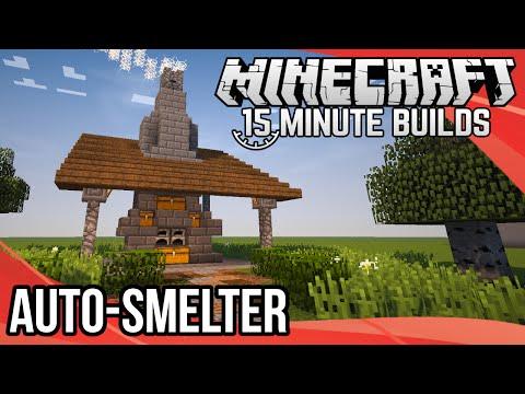Minecraft 15-Minute Builds: Auto-Smelter