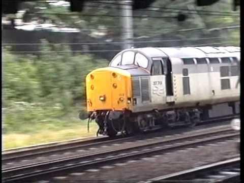 Classic British Rail  -  York - 23th July 1991.