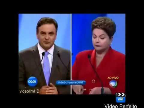 Aecio Neves Macéta Dilma No Debate   Deal With It Version