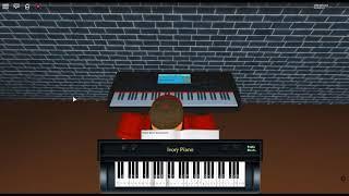 Um mundo sobre a tristeza-I. Dream por: Psyche GameLab em um piano ROBLOX.