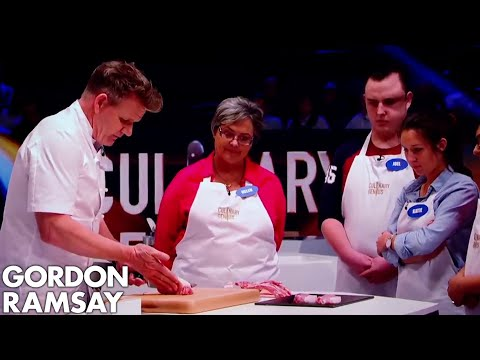 Download Youtube: How to Cut Pork Fillet Steaks from the Loin | Gordon Ramsay