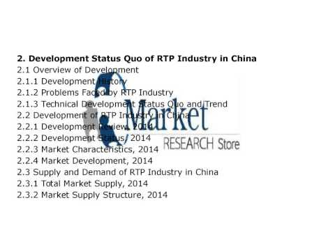 China Reinforced Thermoplastic Pipes RTP Makret 20