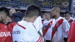 Boca Juniors - River Plate 14/05/15 | GAS PIMIENTA A JUGADORES DE RIVER | DRON CAMISA FANTASMA