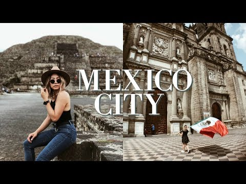 7 days in Mexico City | Un vlog en la Ciudad de México - Mexico City Travel Vlog