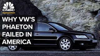 Why The Volkswagen Phaeton Failed In The United States
