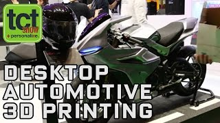 Zortrax on 3D printing motorcycle parts with the M300 | TCT Show