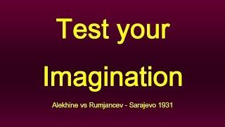 Alexander Alekhine vs Rumjancev - Sarajevo 1931