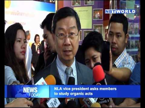 NLA vice president asks members to study organic acts