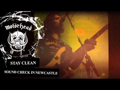 Motörhead –Stay Clean (Soundcheck In Newcastle 1981)