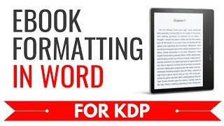 Gambar cover How to Format an eBook in Word for Kindle (Download Infographic)