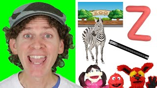 Letter Z | Today's Letter Song With Matt And Friends | Preschool, Kindergarten, Learn English
