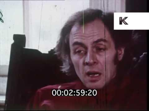 1970s  R D  Laing on Kingsley House, Mental Illness