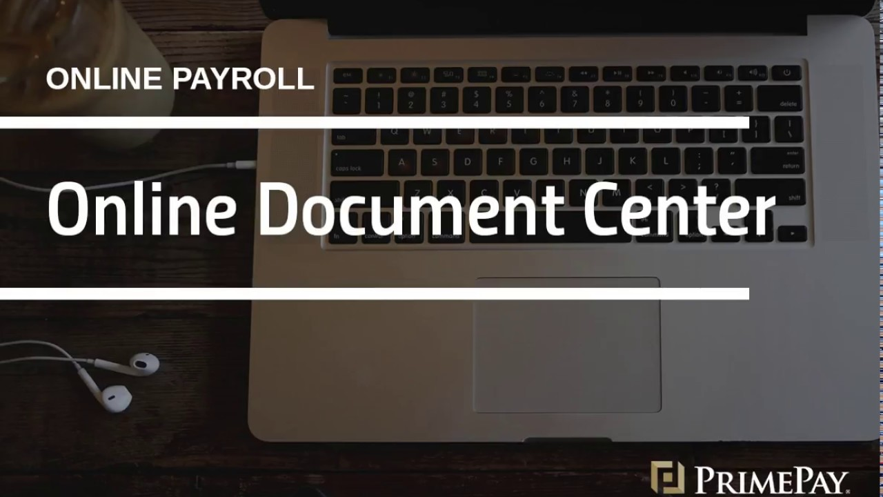 payroll documents exports online document center tools