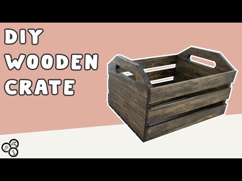 How to Make a Wooden Crate | DIY