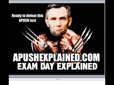 What To Expect During The APUSH Exam
