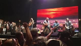 "Eddie Vedder, X, Band of Horses, Kelly Slater ""Rockin in the Free World"" @ Ohana Festival 8/27/16"