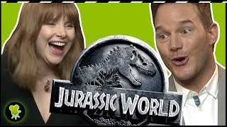Los sustos de Bayona a Chris Pratt y Bryce Dallas Howard en 'Jurassic World