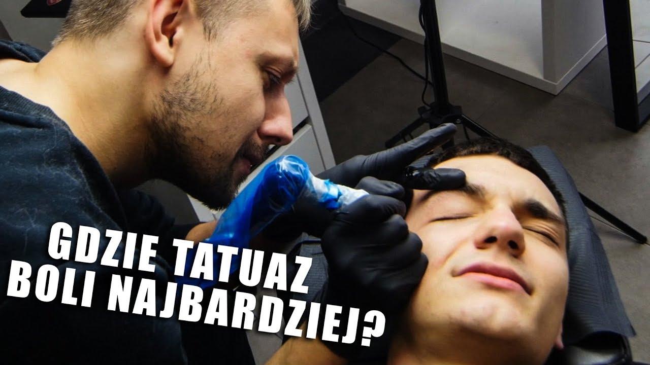Gdzie Tatuaż Boli Najbardziej Granice Bólu Chati