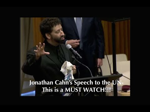 Jonathan Cahn's Speech to the UN - This is a MUST WATCH!!!