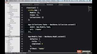 Backbone JS Fetching Rows Into A Collection - 24 tutsplus