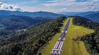Epic Short Runway in the Mountains